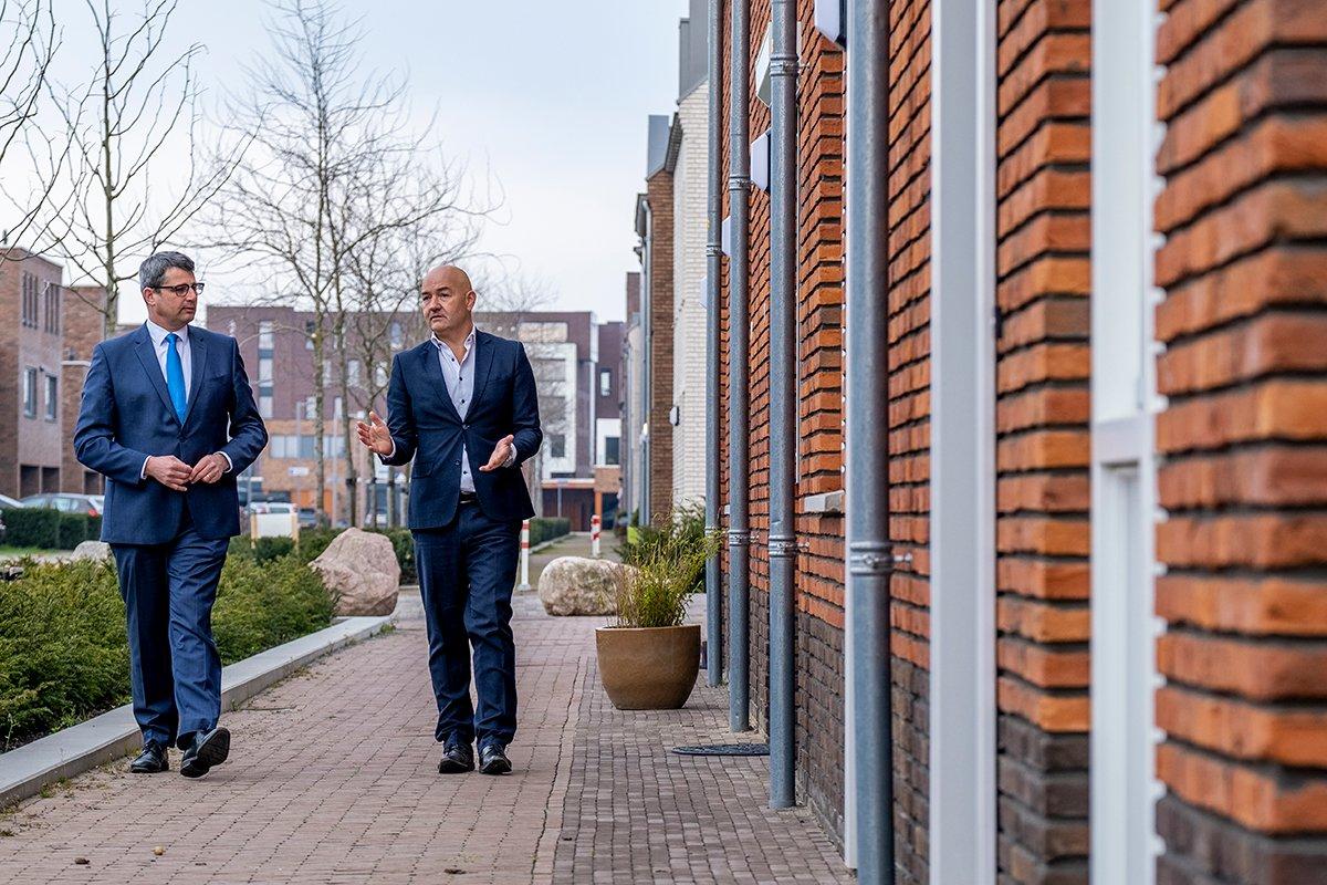 edeputeerde Erik Ronnes en René Beks